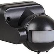 ИК-Датчик движ ДД-009 1100Вт (обзор=180гр./дальн.=12м) IP44 настен.-потол. черн ИЭК фото