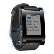 Часы Pebble Smart Watch для IPhone Android, цвет черный (Black) фото
