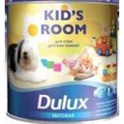 Краска Dulux Kids room BW матовая с ионами серебра (2,5л) фото