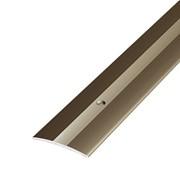 ЛУКА Порог стыкоперекрывающий ПС 03-900-04л бронза анодир-я (0,9м) 37мм фото