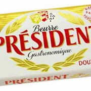 Масло Президент 125г фото