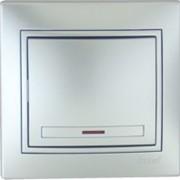 Выключатель с подсветкой 701-1001-111 фото