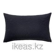 Чехол на подушку, черный СКОГСЕК фото