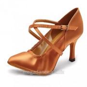 Обувь женская для танцев стандарт модель Элен-Стретч-C фото