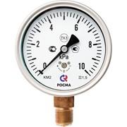Манометр для измерения низких давлений газов фото