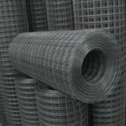 Сетка сварная черная в рулонах 25х50х1.8 фото