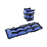Утяжелители универсальные Starfit WT-401 1,5 кг*2 шт, синий фото