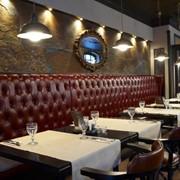 Мебель мягкая для кафе и ресторанов