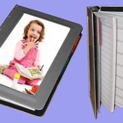 Печать фото на ежедневнике фото