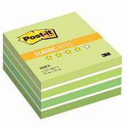 Блок-кубик Post-it куб 2028-G 76x76 зеленая пастель 450л. фото