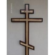 Кресты деревянные в ассортименте фото