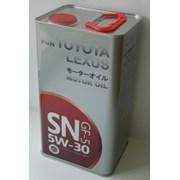 Синтетическое моторное масло Toyota 5W-30 SN GF-5  фото