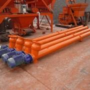 Шнековый транспортер (шнек для цемента) фото