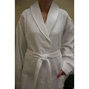 Вафельные халаты для гостиниц фото