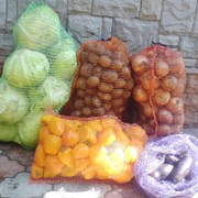 Овощная сетка (от 3 до 40 кг фото