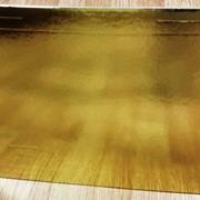 Подложки золото/жемчуг 3,5мм усиленные . фото