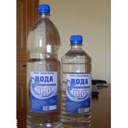Вода дистиллированная 1 л фото