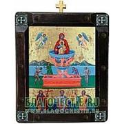 Mt. Athos Живоносный Источник Богородица, греческая икона Высота иконы 26 см фото