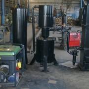 Газогенератор на твёрдом топливе с электростанцией. фото