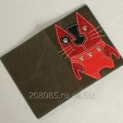 Обложка паспорта Cat фото