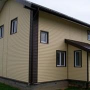 Отделка фасадов сайдингом от УютСтройКараганда фото