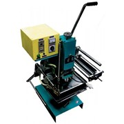 Пресс WT 1-300 позволяет производить тиснение фольгой и конгревное тиснение, с подставкой напольной фото