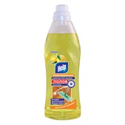 "Средство для мытья полов концентрированное HELP ""Лимон"" 1 л (12шт/кор) фото"