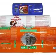Упаковка для сухих кормов для животных фото