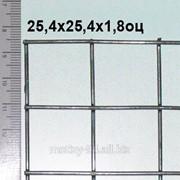 Сварная сетка оцинкованная ТМ Казачка 25,4*12,7*1,8 мм (цинка до 130 г/м2) фото