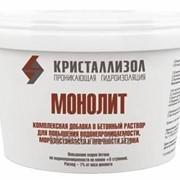 Комплексная добавка для бетона Кристаллизол Монолит фото