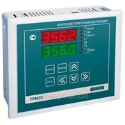 Контроллер для регулирования температуры в системах отопления с приточной вентиляцией Овен ТРМ33-Щ4.03.RS фото