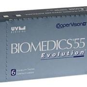 Контактные линзы нового поколения BIOMEDICS 55 Evolution (Биомедикс 55 Эволюшен) фото