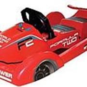 Санки с рулем Gimpel formula красный фото