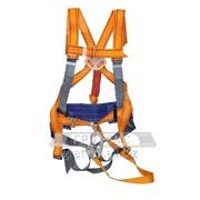 Привязь удерживающе-стаховочная М-т СУС-II АЖ с напл.и наб.лямками строп из ленты,с аморт. фото