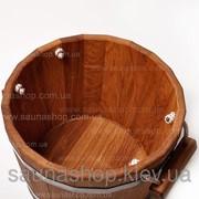 Запарник для бани, сауны, дубовый 35л. фото