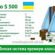 Металлопластиковое окно Steko S500 фото