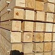 Брус обрезной, сосна 100Х200Х6000 фото