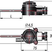 Термопреобразователь сопротивления для измерения температуры воздуха во взрывозащищенном исполнении ДТС125-100М.В2.100.ЕХ-Т3 фото