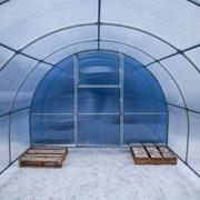 Теплица Сибирская Премиум, КРАБ труба 40х20 8метров фото