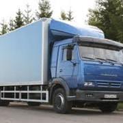 Фургоны КАМАЗ фото