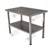 Стол разделочно-производственный профессиональный без борта СРП-П-0-0,7/0,95 фото