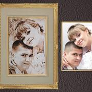Вышивка свадебных метрик фото