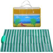 Коврик-сумочка пляжный 180x90см, искуственная соломка фото