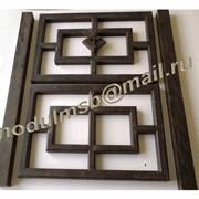 Пресс-форма для производства элементов забора декоративного (отовые элементы) фото