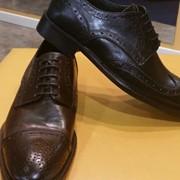 Туфли мужские, натуральная кожа, Италия. фото
