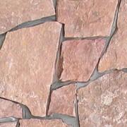 Доломитизированный известняк рваный толщ. 25-35 мм (Без скола) фото