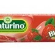 Натурино с витаминами и натур соком клубники, упаковка 33,5 г фото