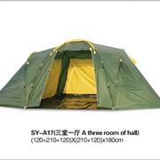 Палатка 2 слоя 3 комнаты 210*120*180 Супер Комфорт 6 фото