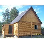 Дом каркасный деревянный (перевозимый)