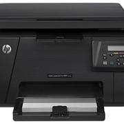 Принтер HP Color LaserJet Pro M176n MFP (A4) Printer/Scanner/Copier фото